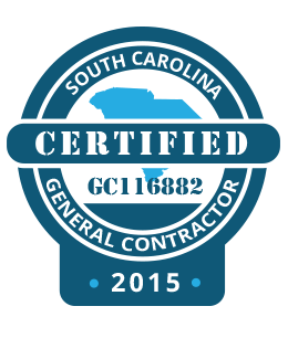 Certified and Licensed South Carolina General Contractor Charleston
